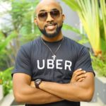 Banky W Stuns Family With Surprise Visit In The US