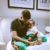 Wizkid Gifts Son A Customized Diamond Neck Piece, Bez Wecomes Baby Number 2