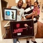 Davido & Family Show Off Plaque || WATCH
