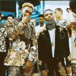 Wizkid Walks D&G Men's Fashion Show Alongside Naomi Campbell & Tinie Tempah || WATCH