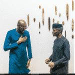 2Baba, Mo Abudu & Others Accompany VP, Osinbajo To Hollywood