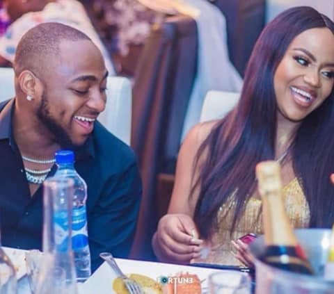Adorable Video Of Chioma & Davido Jnr Listening To Davido's Album || Watch
