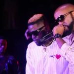 "Skales Performs ""Baddest Boy"" With Wizkid & Banky W @ ""Mr Love"" Album Listening"