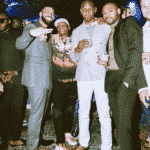 Wizkid & Drake Party Together @ Scorpion Album Listening [WATCH]