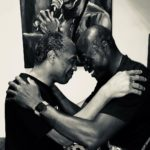 Photos: British-Nigerian Singer, Seal Visits Femi Kuti At The New Afrika Shrine
