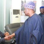 Photos: Yinka Ayefele Reconciles With Governor Ajimobi After Closed Door Meeting