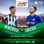 "The Blues Battles For Their Third Win In A Roll- Predict & Win ""Chelsea Vs Newcastle""."
