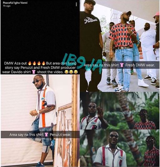 PHOTO] Peruzzi, Fresh Called Out For Wearing Davido's Used
