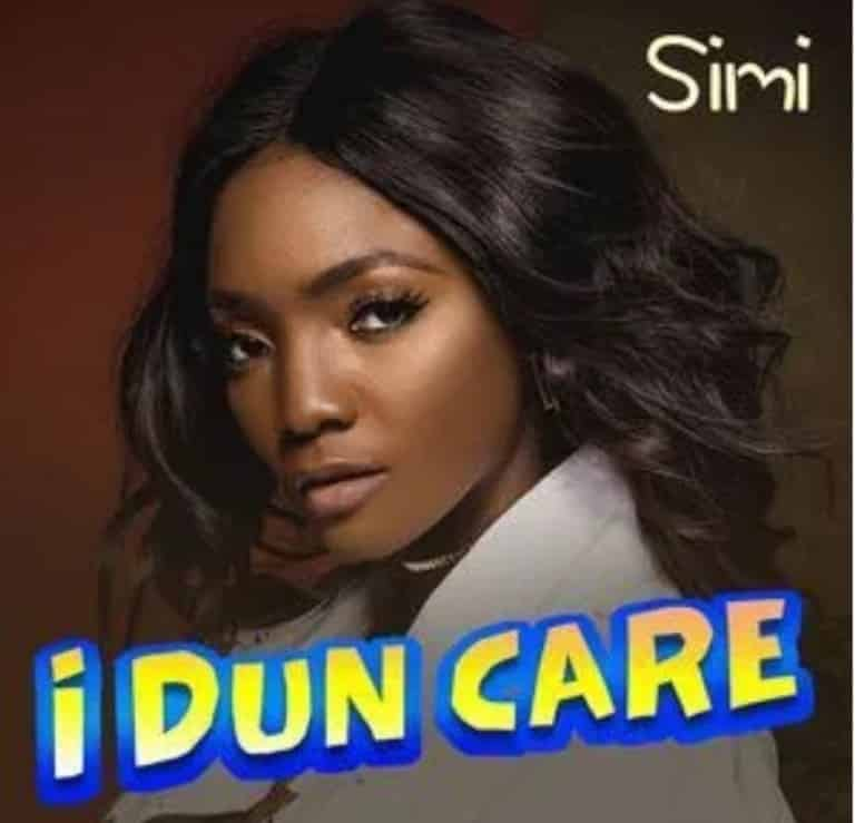 (music) Simi – I Dun Care