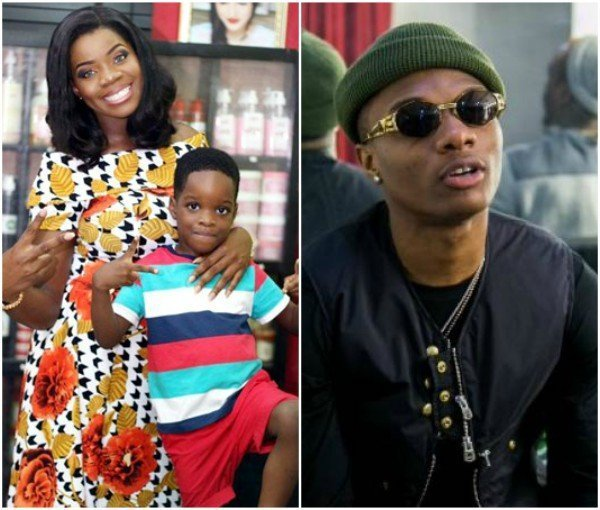 Start By Paying Your Children's School Fees Before Building Schools- Wizkid's Babymama
