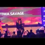 Video: Tiwa Savage Twerks On Humblesmith At Osinachi Concert