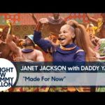 """Video: Janet Jackson Performs """"Made For Now"""" In Yoruba Language On The Tonight Show"""