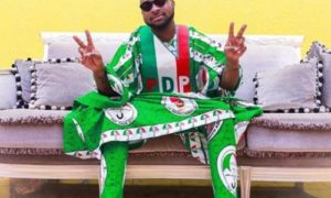 Davido Causes 'Commotion' At PDP's Mega Rally With Chioma, Assurance || Watch