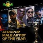 Wizkid and Davido Battle for Best Male NEA Awards 2018 | Full List