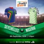 Sportcheq.com Predict & Win Game. Nigeria vs Seychelles