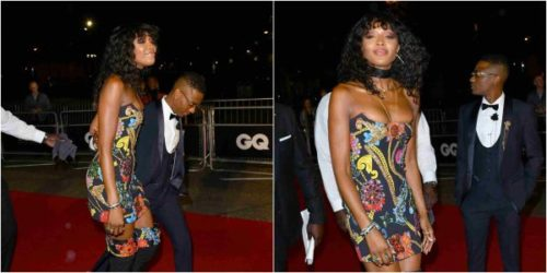 Wizkid Steps Out For GQ Men Of The Year Awards With Naomi Campbell As His Date