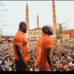 Davido Prostrates When He Got To His Hometown For PDP's Rally || WATCH