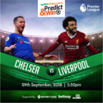Sportcheq.com Predict & Win Game. Liverpool Vs Chelsea