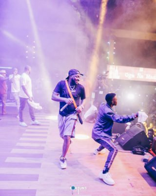 PHOTO EXCLUSIVE: Davido And DMW Lit Up Felabration 2018 Closing Night