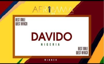 NEWS:  Nigerian Artistes Dominates The AFRIMMA Awards 2018 || See Full List Of Winners