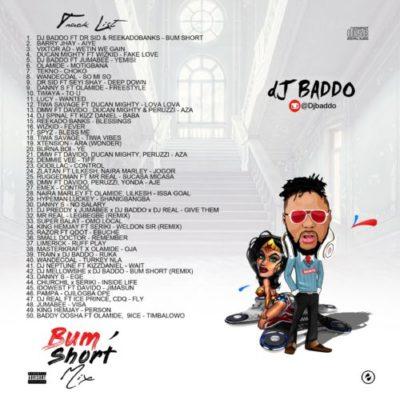 "[New Music] DJ Baddo – ""Bum Short Mixtape"""