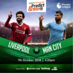 Sportcheq.com Predict & Win Game. Liverpool Vs Man City