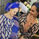 New Photos Of Wizkid's Ex, Tania Omotayo Traditional Wedding Surfaces Online
