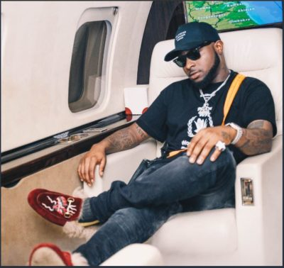 Davido Escapes Flight Scare,Thanks God For Surviving