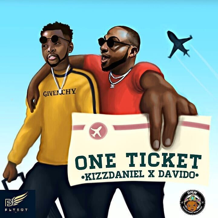 Kizz Daniel - One Ticket ft. Davido Cover