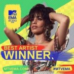 Camila Cabello Emerge The Biggest Winner At 2018 MTV EMAs || See Full List Of Winners