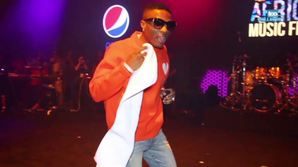 Wizkid Causes Fever With His Performance At The One Africa Music Fest In Dubia || Watch Video