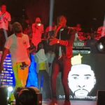 "Legendary Musician, 9ice, Prostrates For Davido On Stage At The ""City of Davido"" Concert In Lagos 