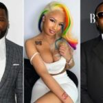 50 Cent & Meek Mill Shade Tekashi6ix9ine's Girlfriend Over Tattoo