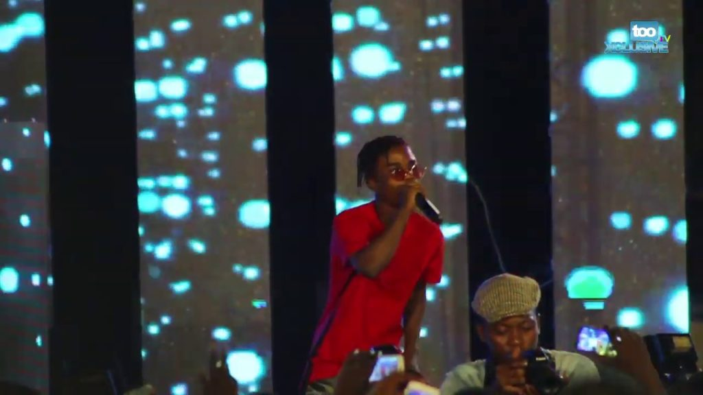 Lyta Makes Olamide Proud As He Delivers Outstanding Performance At