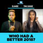 Olamide Vs Tiwa Savage… Who Had A Better 2018?