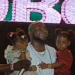 """Davido Brings Out His Two Beautiful Daughters On Stage In A Wonderful Moment At His """"City Of Davido"""" Concert 