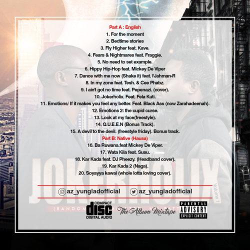 """Download Album: A-Zee Yunglad – """"Jokerholix"""" 2"""