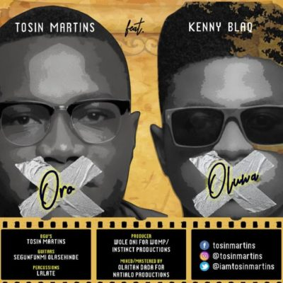 "Download MP3: Tosin Martins – ""Oro Oluwa"" ft. Kenny Blaq 1"