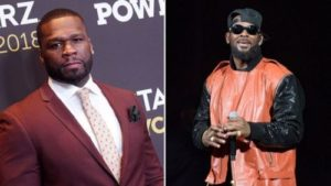 "#ViralNow: ""Got B*tches Somewhere Sh*tting In Buckets"" - 50 Cent Blasts R.Kelly Latest Nigerian Songs 1"