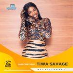 Happy Birthday Tiwa Savage… Send Your Wishes!