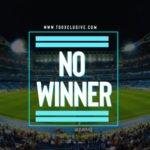 """Manchester City vs Chelsea – """"No Winner"""""""