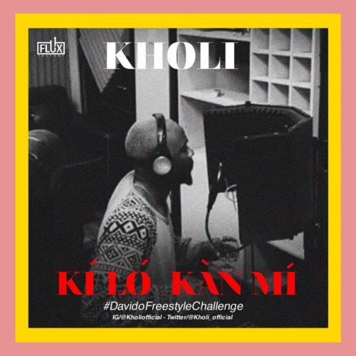 "MUSIC: Kholi – ""Kí Ló Kàn Mí"" (Prod by GospelOnDeBeatz) Mp3"