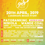 Second Batch Of Gidi Fest 2019 Artiste Line-Up Unveiled