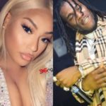 Watch Moment Burna Boy And Stefflon Don Were Caught Kissing And Cuddling