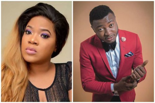 Actor; Toyin Abraham, Slams MC Galaxy For Asking Girls To Go Nude In A 50K Giveaway Challenge