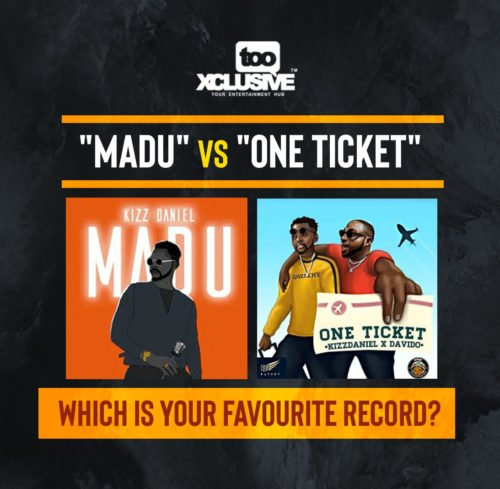 "Kizz Daniel's ""Madu"" VS ""One Ticket"" Ft Davido – Which Is Your Favourite Record?"