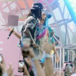 Watch Moment Cardi B & Offset Shared Passionate Kiss On Stage At The Revolve Festival