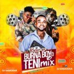 "DJ Sagacious – ""Best Of Burna Boy x Teni"" Mix"