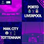 "UCL; ""Man. City vs Tottenham"" + ""Porto"" vs ""Liverpool"" Predict & Win #5,000"