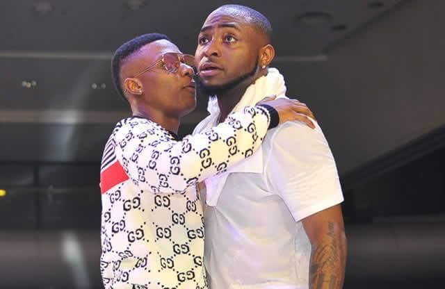 Davido & Wizkid Show Love To Each Other At Festival In Amsterdam